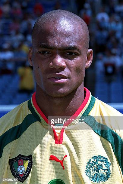Olympic Games Sydney Australia Football Cameroon beat Spain 53 on penalty's after a 22 draw 30th September Albert Ze Meyong of Cameroon