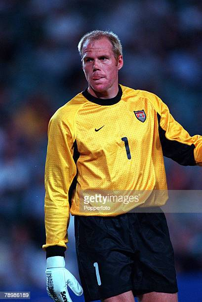 Olympic Games Sydney Australia Football Chile beat USA in the Bronze Medal match 29th September Brad Friedel USA