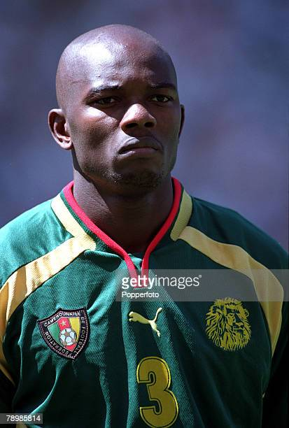 Olympic Games Sydney Australia Football Final Cameroon beat Spain 53 on penalty's after a 22 draw 30th September Pierre Wome of Cameroon
