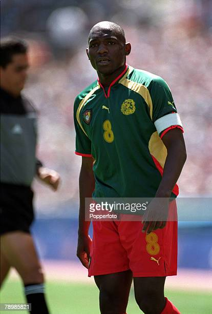 Olympic Games Sydney Australia Football FinalCameroon beat Spain 53 on penalty's after a 22 draw 30th September Geremi Njitap Fotso of Cameroon