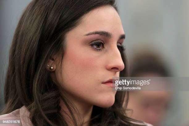 Olympic gold medal gymnast Jordyn Wieber testifies about her sexual abuse at the hands of team doctor Larry Nassar during a hearing of the Senate...