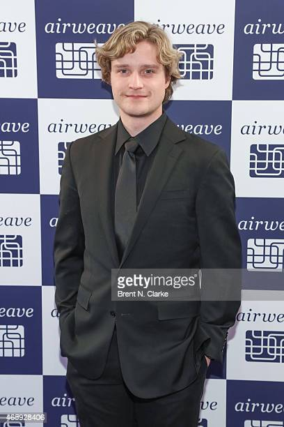 Olympic Gold Medal ice dancing champion Charlie White arrives for the Airweave Soho Store Opening at Airweave on March 11 2015 in New York City