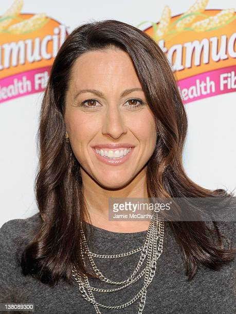 Olympic Gold Medal Swimmer Janet Evans hosts a discusssion at Exhale Mind Body Spa on February 2 2012 in New York City
