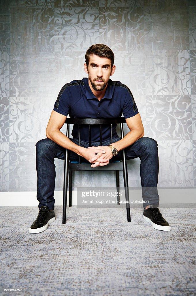 Michael Phelps, Forbes Magazine, January 24, 2017