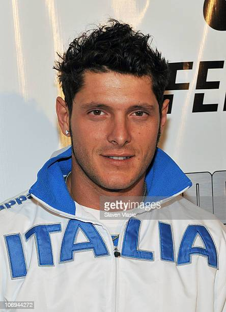 Olympic Gold medalist Aldo Montano from Italy attends the Fencing Masters NYC Tournament and Expo at the Hammerstein Ballroom on November 17 2010 in...