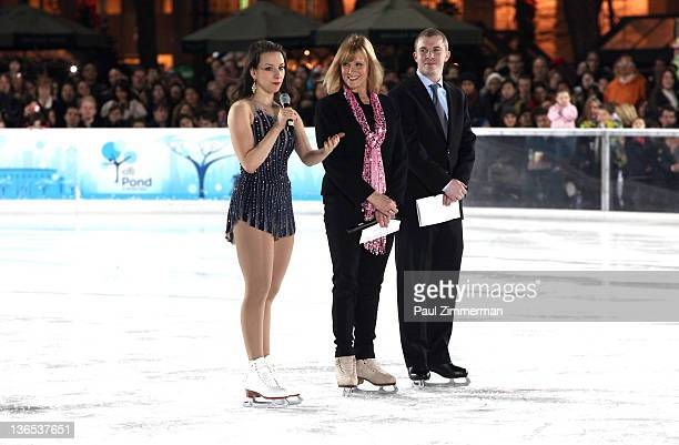 2002 Olympic gold medalist and 2001 World bronze medalist Sarah Elizabeth Hughes 2002 US Olympic Bronze Medalist Timothy Goebel and former Olympian...