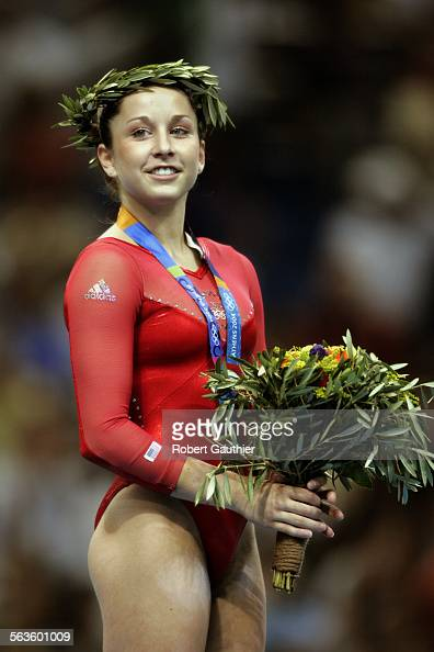 Olympic Gold Medalist Carly Patterson Of The USA Won The