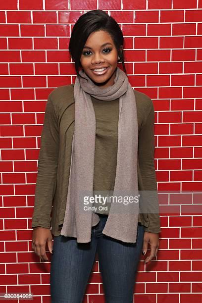 Olympic Gold Medalist Gabby Douglas hosts a special screening of 'Fences' at Regal EWalk Stadium 13 on December 21 2016 in New York City