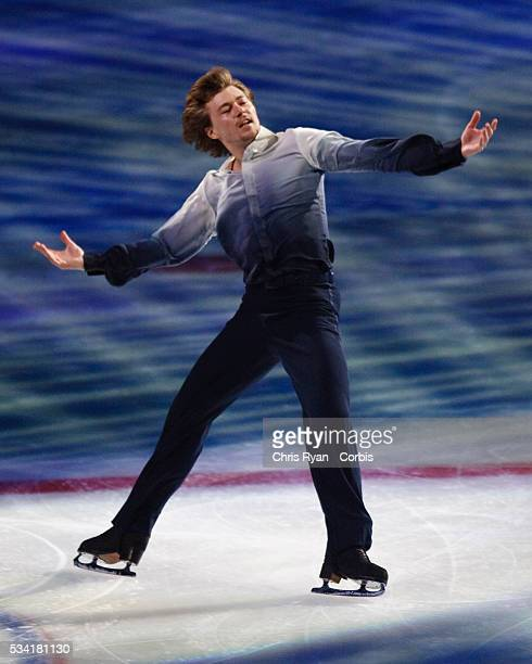 Olympic Gold Medalist Ilia Kulik performing at Smucker's Stars On Ice at The Rose Garden arena in Portland