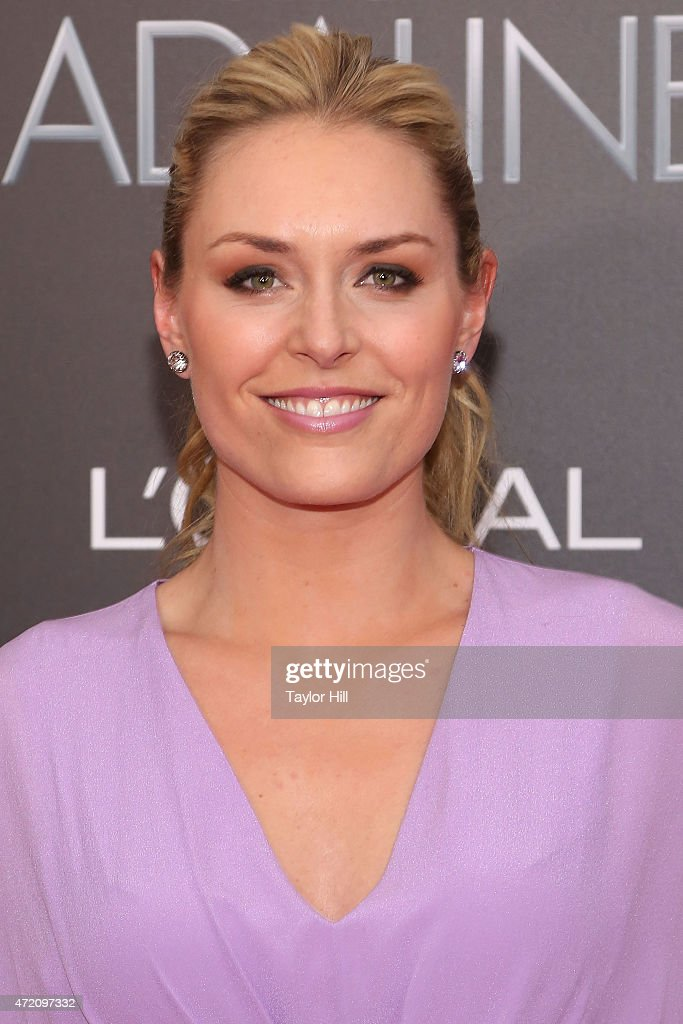 Olympic gold medalist Lindsey Vonn attends 'The Age of Adaline' premiere at AMC Loews Lincoln Square 13 theater on April 19, 2015 in New York City.