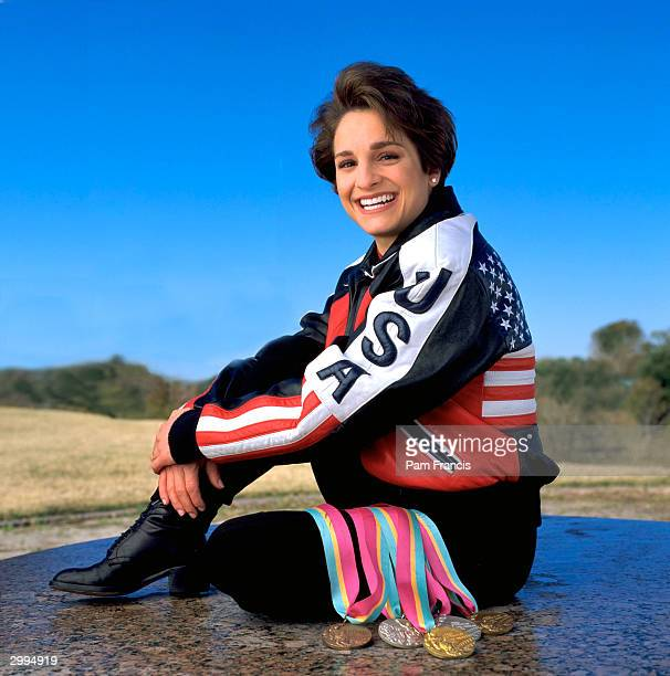 Olympic Gold Medalist Mary Lou Retton photographed on October 27 2000 in Houston TX