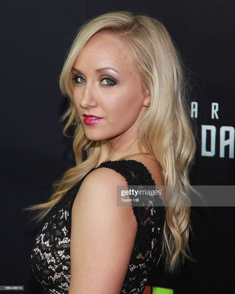 Olympic gold medalist Nastia Liukin attends the 'Star Trek Into Darkness' screening at AMC Loews Lincoln Square on May 9, 2013 in New York City.