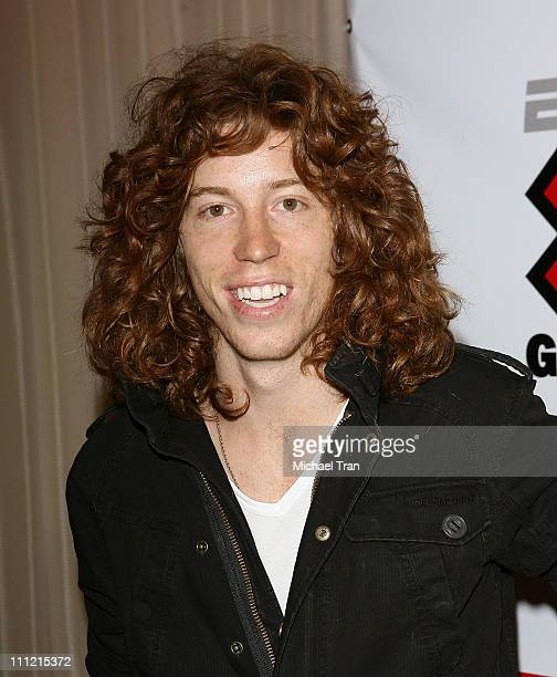 Olympic Gold Medalist Snowboarder Shaun White arrives at the Disturbia DVD release party at The Standard Hotel on August 2 2007 in Los Angeles...