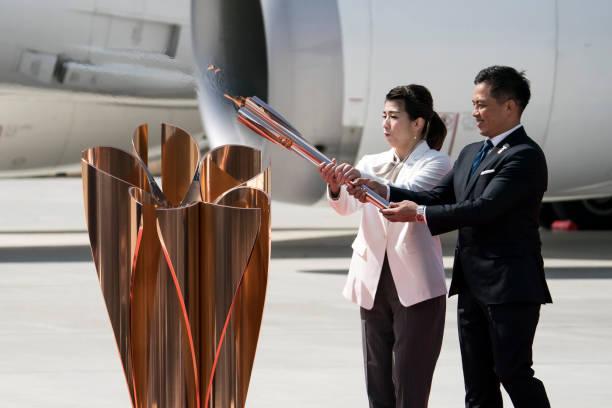 JPN: Tokyo 2020 Olympic Flame Arrives Japan