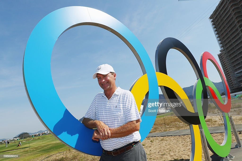 Golf Previews - Olympics: Day 2 : News Photo