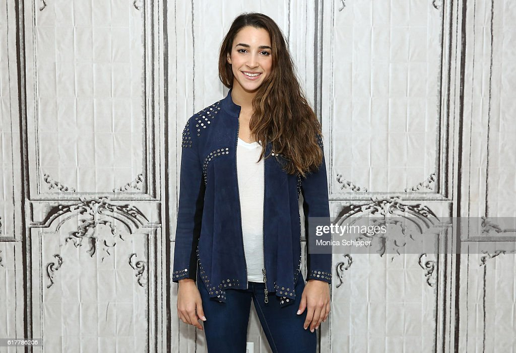 Olympic gymnast Aly Raisman attends The Build Series Presents Aly Raisman at AOL HQ on October 24, 2016 in New York City.