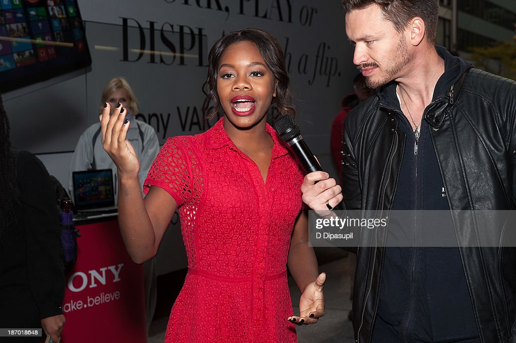 Gabby douglas meet greet photos and images getty images olympic gymnast gabby douglas attends a meet and greet at the sony store on november 5 m4hsunfo