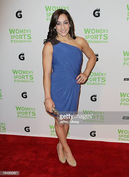 Olympic gymnast Jordyn Wieber attends the 33rd Annual Salute To Women In Sports Gala at Cipriani Wall Street on October 17 2012 in New York City