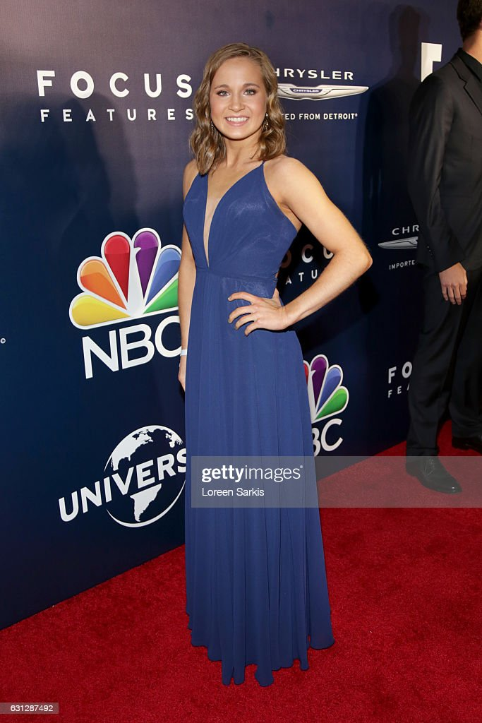 Olympic gymnast Madison Kocian attends NBCUniversal's 74th Annual Golden Globes After Party at The Beverly Hilton Hotel on January 8, 2017 in Beverly Hills, California.