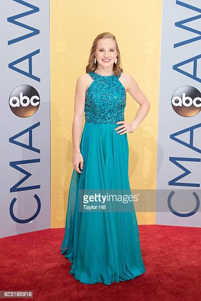 Olympic gymnast Madison Kocian attends the 50th annual CMA Awards at the Bridgestone Arena on November 2 2016 in Nashville Tennessee