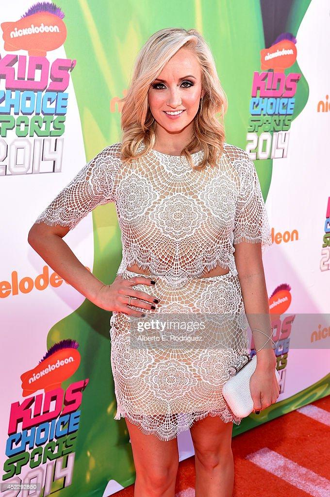 Nickelodeon Kids' Choice Sports Awards 2014  - Red Carpet : News Photo