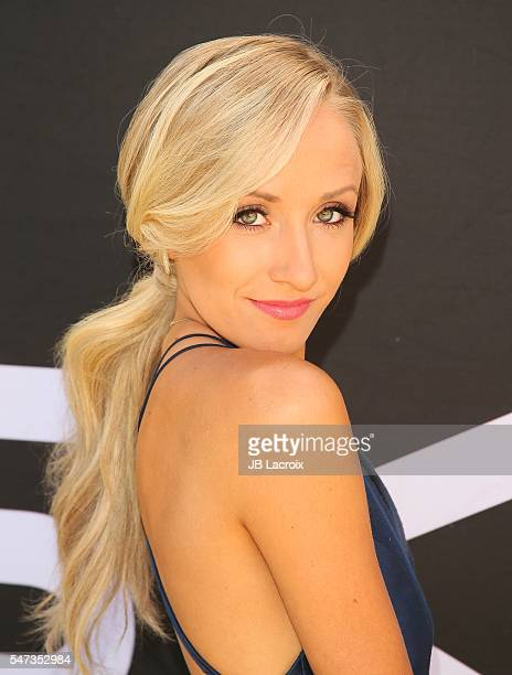 Olympic gymnast Nastia Liukin attends the Greg Louganis' PreESPY Awards Wheaties Breakfast for Champions at the Starving Artists Project on July 13...