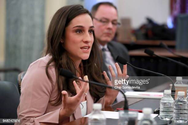 Olympic gymnastics gold medalist Jordyn Wieber recounts her sexual abuse at the hands of team doctor Larry Nassar while testifying before the Senate...