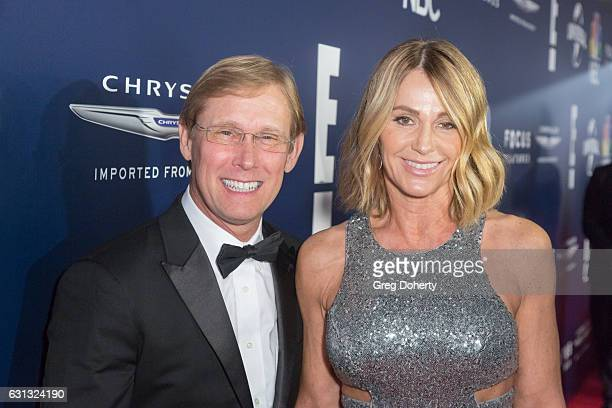 Olympic Gymnasts Bart Connor and Nadia Comaneci arrives at the NBCUniversal's 74th Annual Golden Globes After Party at The Beverly Hilton Hotel on...