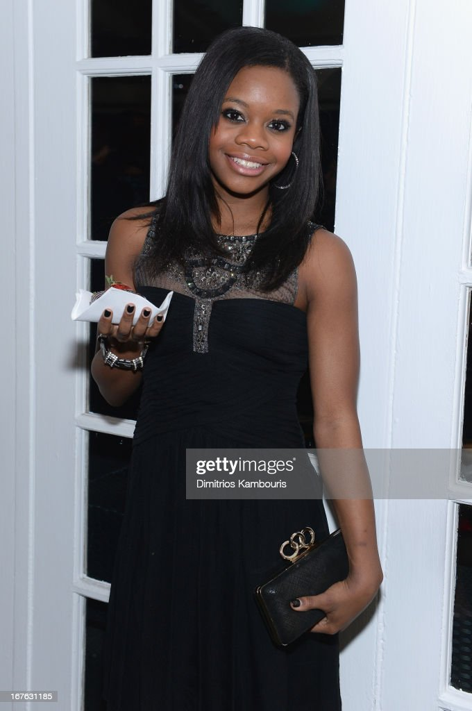 Olympic Gymnist Gabby Douglas attends The New Yorker's David Remnick Hosts White House Correspondents' Dinner Weekend Pre-Party at W Hotel Rooftop on April 26, 2013 in Washington, DC.