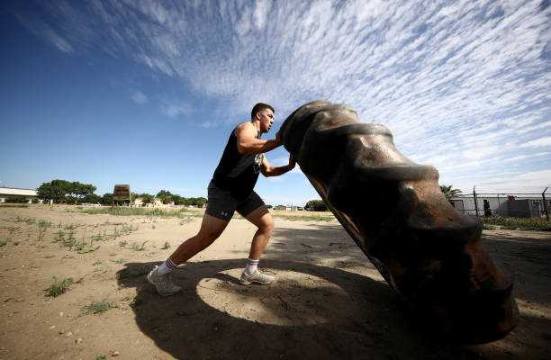 CA: Olympic Boxer Richard Torres Jr Trains During Coronavirus Pandemic