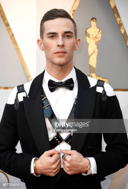 Olympic medalist Adam Rippon attends the 90th Annual Academy Awards at Hollywood Highland Center on March 4 2018 in Hollywood California