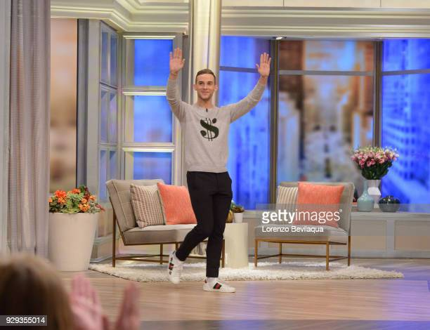 THE VIEW Olympic medalist Adam Rippon is the guest today Thursday March 8 2018 on Walt Disney Television via Getty Images's The View The View airs...