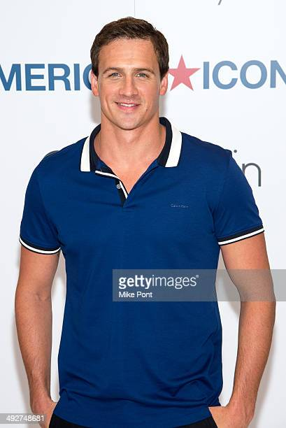 Olympic Medalist Ryan Lochte visits Macy's Herald Square on May 21 2014 in New York City