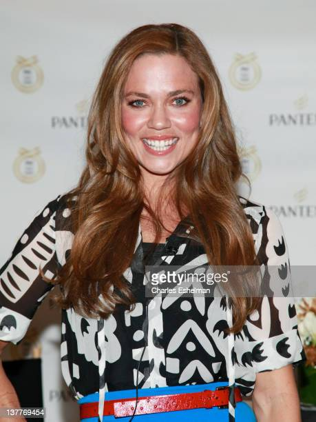 Olympic medalist swimmer Natalie Coughlin attends the London 2012 Olympic Games announcement at the Gansevoort Park Avenue on January 26, 2012 in New...