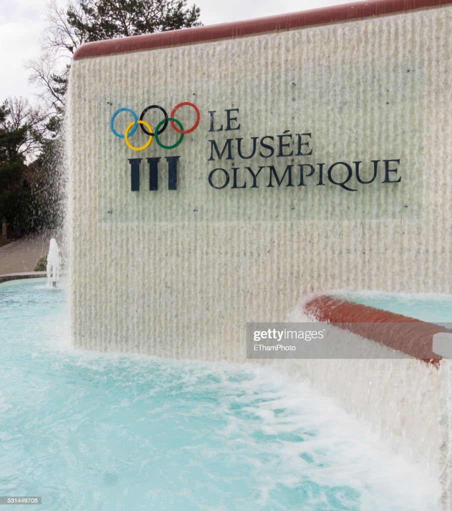 Olympic museum at Lausanne, Switzerland : Stock Photo