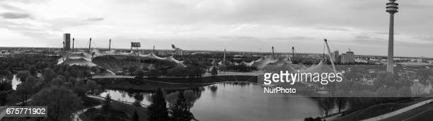 Olympic Park in Munich Germany is an Olympic Park which was constructed for the 1972 Summer Olympics Located in the Oberwiesenfeld neighborhood of...