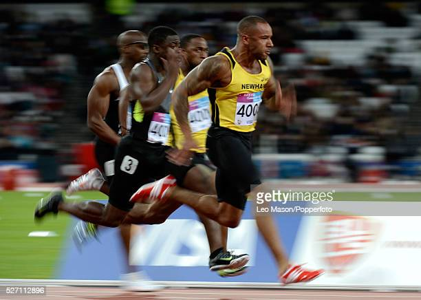 Olympic Stadium2012 hours to Go 100m Invitational race