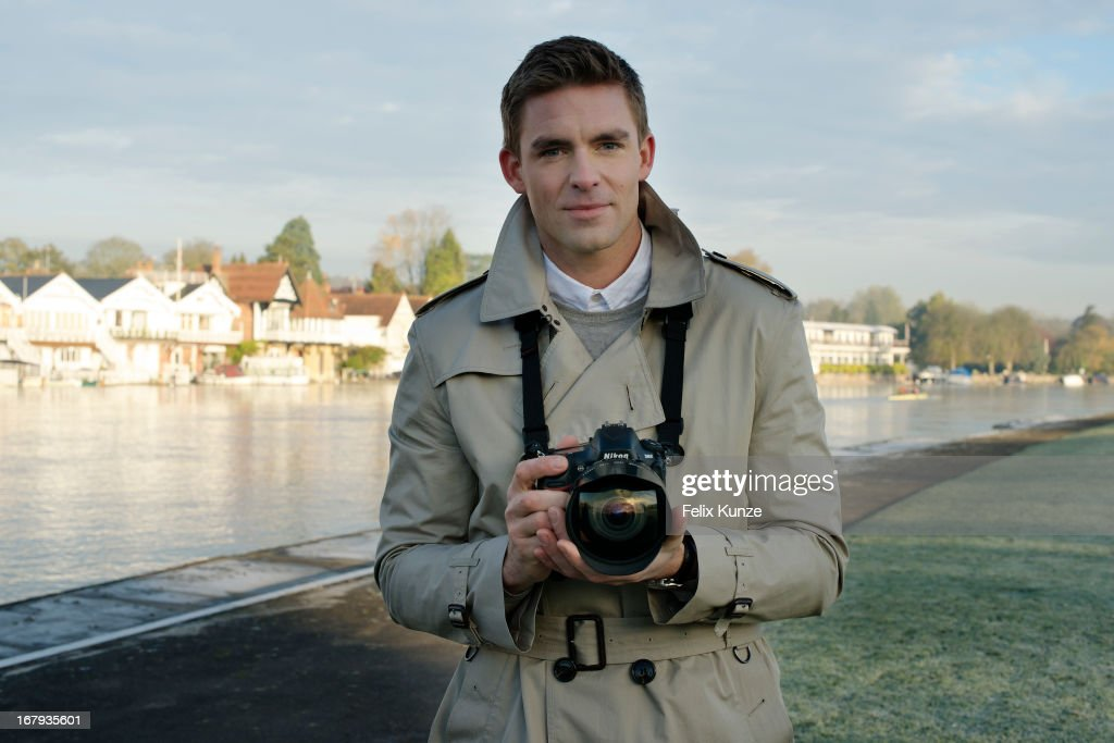 Olympic Rower Pete Reed Is Photographed For Nikon Owner Magazine On November 6 2017 In