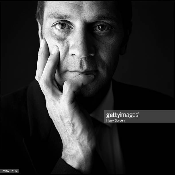 Olympic rower Steve Redgrave is photographed for the BBC on November 23 2000 in London England