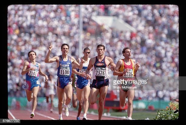 Olympic Runners in the Men's 1500 Meter