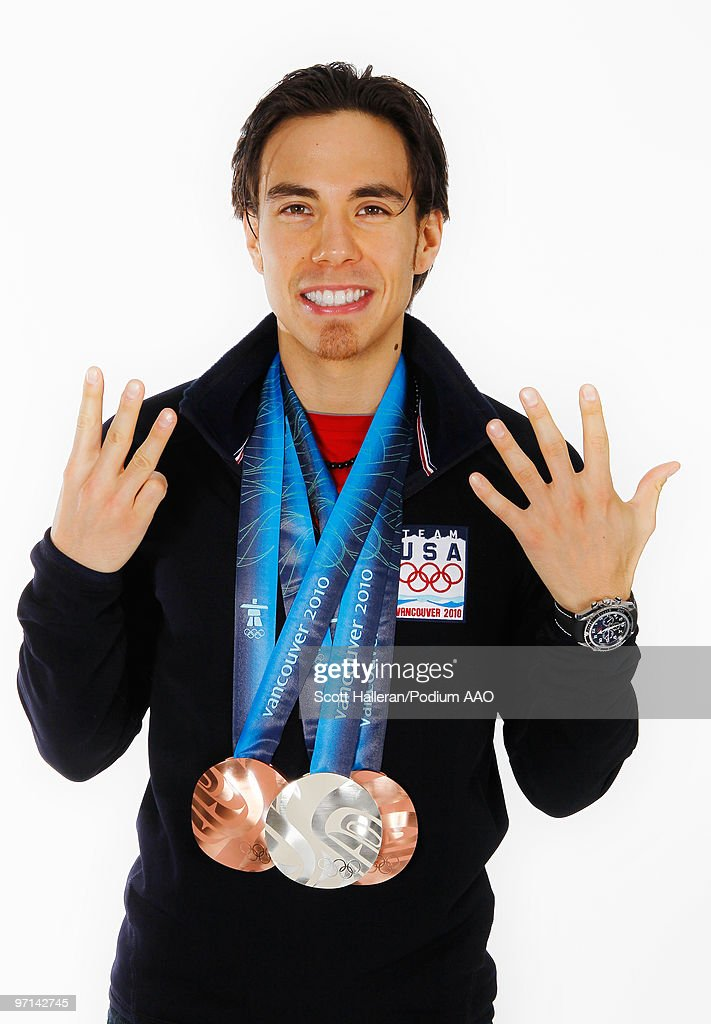 Apolo Anton Ohno Olympic Medal Shoot