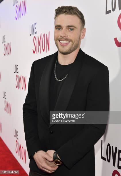 Olympic skier Gus Kenworthy attends a special screening of 20th Century Fox's 'Love Simon' at Westfield Century City on March 13 2018 in Los Angeles...