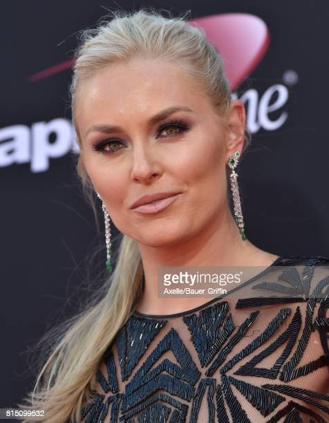 Olympic skier Lindsey Vonn arrives at the 2017 ESPYS at Microsoft Theater on July 12 2017 in Los Angeles California
