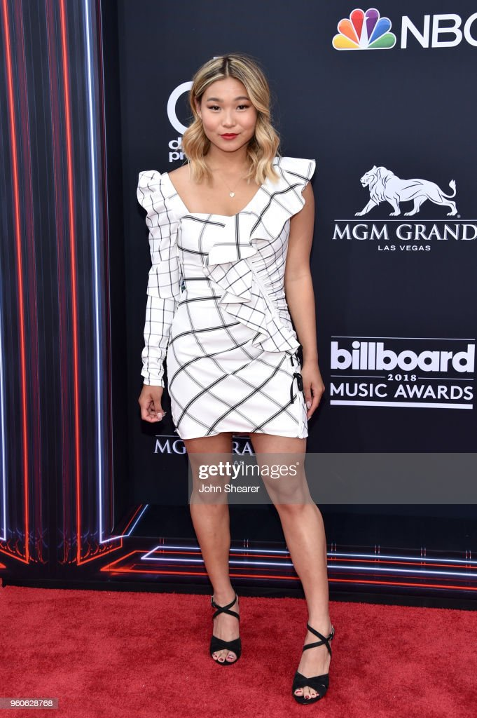 Olympic snowboarder Chloe Kim attends the 2018 Billboard Music Awards at MGM Grand Garden Arena on May 20, 2018 in Las Vegas, Nevada.