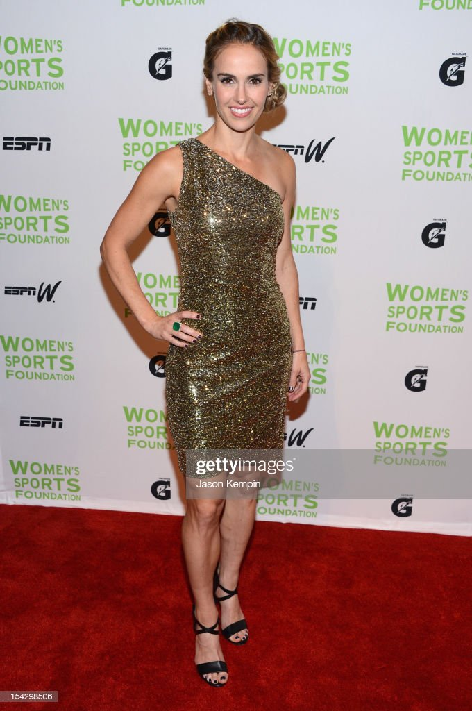Olympic soccer player Heather Mitts attends the 33rd Annual Salute To Women In Sports Gala at Cipriani Wall Street on October 17, 2012 in New York City.