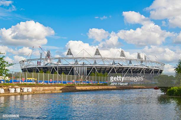 olympic stadium, stratford, london - 2012 summer olympics london stock pictures, royalty-free photos & images