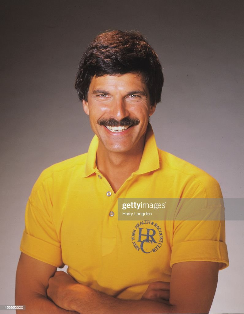 Olympic Star Mark Spitz poses for a portrait in 1986 in Los Angeles, California.