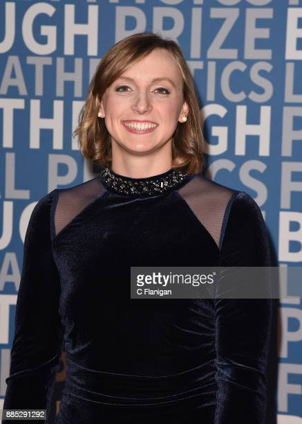 Olympic swimmer Katie Ledecky attends the 2018 Breakthrough Prize at NASA Ames Research Center on December 3 2017 in Mountain View California
