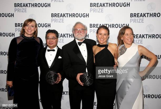 Olympic swimmer Katie Ledecky Breakthrough Prize in Life Sciences Laureate Kazutoshi Mori Breakthrough Prize in Life Sciences Laureate Peter Walter...