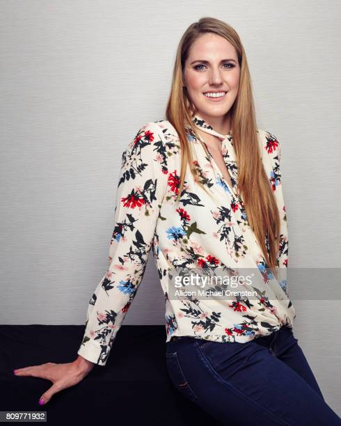 Olympic swimmer Missy Franklin is photographed for Wall Street Journal on December 6 2016 in New York City